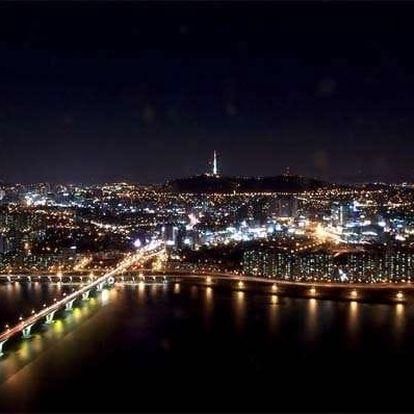 Noční let nad městem pro 3 osoby