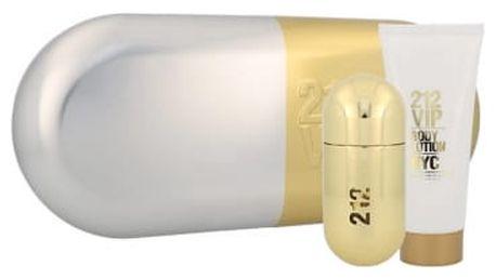 Carolina Herrera 212 VIP dárková kazeta pro ženy parfémovaná voda 50 ml + tělové mléko 100 ml