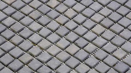 Divero Garth 794 Mramorová mozaika - šedá 1 m2