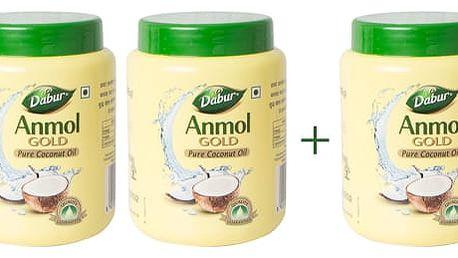 Dabur kokosový olej ANMOL 2+1 zdarma