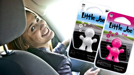 Stylová 3D vonítka do auta Little Joe v pěti vůních
