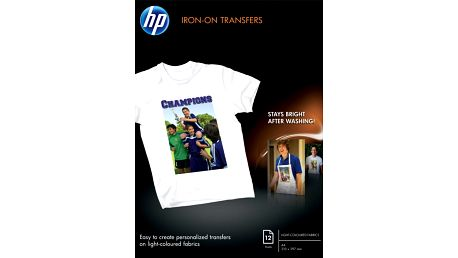 HP Iron-on nažehlovací fólie A4, 12ks, 170 g/m2 - C6050A