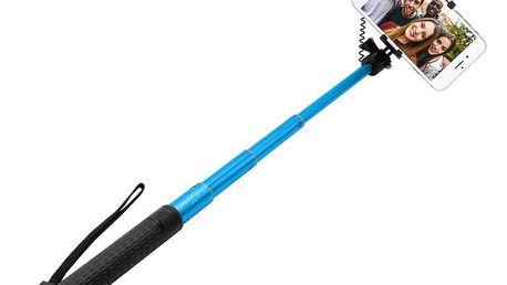 FIXED selfie tyč, teleskopická, modrá - FIXSS-W-BL