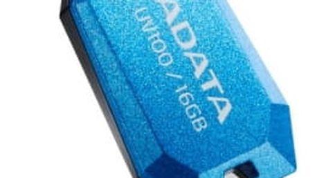 USB Flash A-Data UV100 16GB (AUV100-16G-RBL) modrý USB 2.0