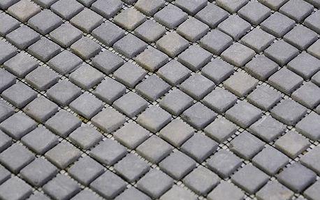 Divero Garth 794 Mramorová mozaika - šedá 1 m2 - 30x30 cm
