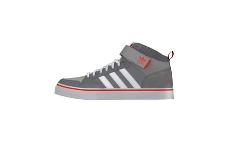Pánské tenisky adidas VARIAL II MID 45 GREY/CLGREY/SOLRED