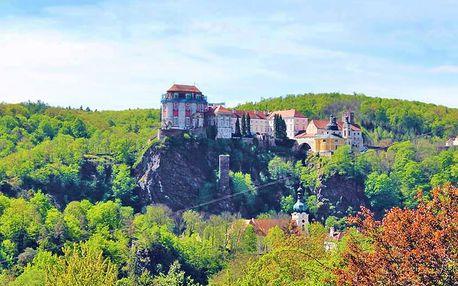 Jižní Morava pohodově: 3* hotel nedaleko zámku i přehrady Vranov s polopenzí