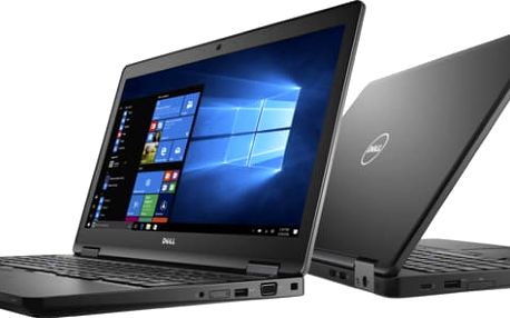 Dell Latitude 15 (5580), černá - 4F7Y5