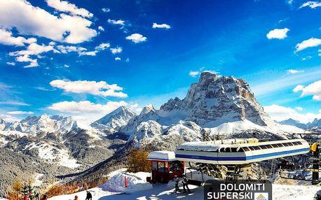 5denní Civetta (Dolomiti Superski) se skipasem | Hotel Savoia*** | Doprava, ubytování, polopenze a skipas