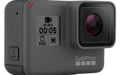 Outdoorová kamera GoPro HERO5 Black černá/šedá + DOPRAVA ZDARMA
