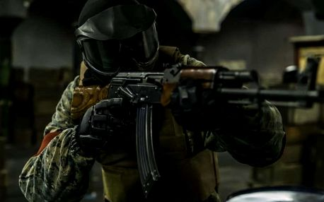 Airsoft ve stylu Counter-Strike