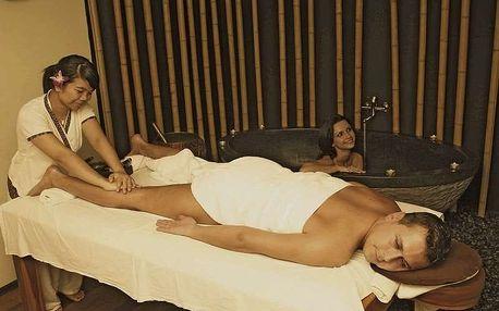 Bali masáž s horkou lázní (pro dva)