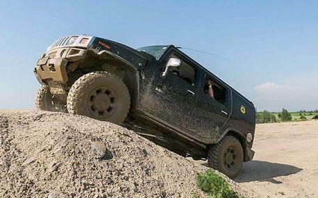 Projížďka v terénním voze Hummer H2