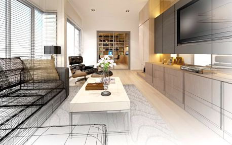 Profesionální 3D návrh interiéru do 35 m²