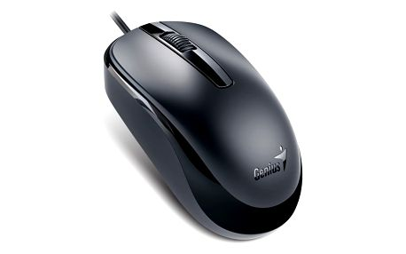 Myš Genius DX-120 (31010105106) černá / optická / 3 tlačítka / 1200dpi