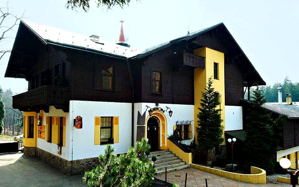 Hotel Orion s výhledem na Ještěd, děti do 15 let zdarma