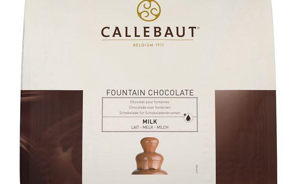 Mléčná čokoláda do fontány Callebaut 2,5 kg