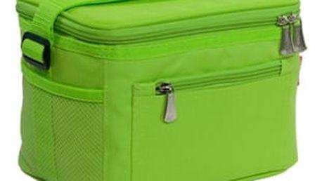 TESCOMA termobrašna s gelovým chladičem COOLBAG, 2 dózy, zelená