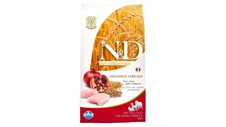 Granule N&D Low Grain DOG Adult Chicken & Pomegranate 12 kg + Doprava zdarma