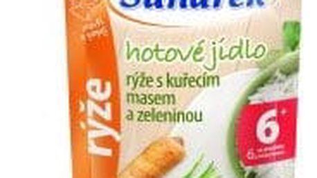 6x SUNÁREK Kapsička - Rýže s kuřecím masem a zeleninou (120 g)