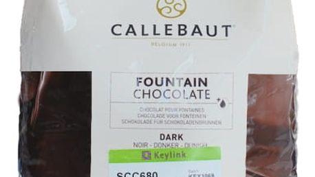 Tmavá čokoláda do fontány Callebaut 2,5 kg