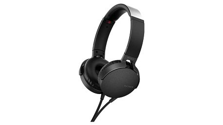 Sony MDR-XB550AP, černá - MDRXB550APB.CE7