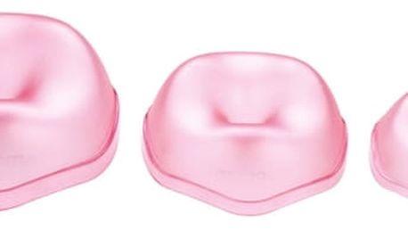 TESCOMA tvarovací formičky DELÍCIA DECO, 3 ks, růžová