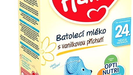 6x HAMI 24+ s příchutí vanilky (600 g) – kojenecké mléko