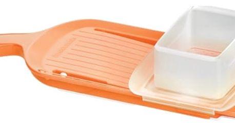TESCOMA struhadlo s keramickou čepelí VITAMINO, nastavitelné, oranžová