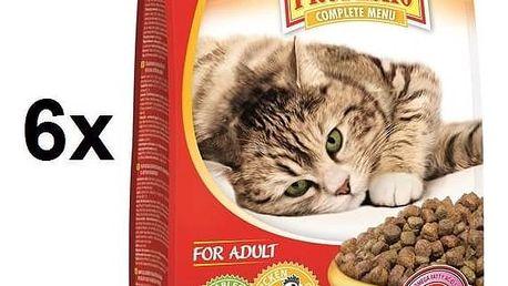 Granule Propesko kočka kuřecí se zeleninou 10,8 kg (6 x 1,8 kg)