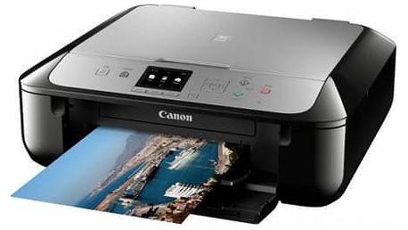 Tiskárna multifunkční Canon MG5752 (0557C046) černá/stříbrná