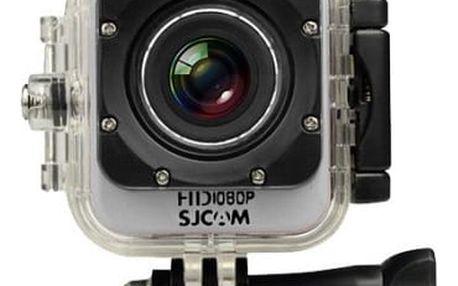 SJCAM M10 CUBE sportovní kamera - stříbrná