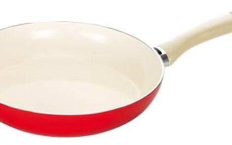TESCOMA pánev ecoPRESTO Signal ø 26 cm, červená