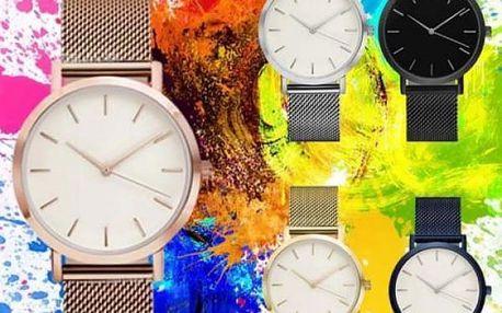 Jednoduché dámské hodinky Elegance