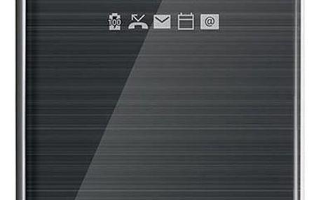 LG Quick Cover Clear CFV-300 pro LG G6, černá - CFV-300.AGEUBK