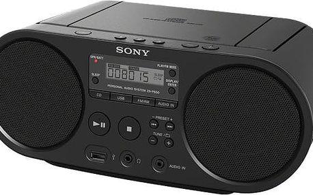 Sony ZS-PS50, černá - ZSPS50B.CET
