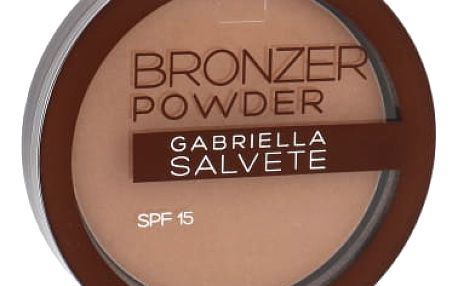 Gabriella Salvete Bronzer Powder SPF15 8 g pudr pro ženy 03