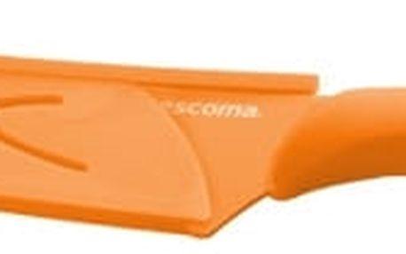 TESCOMA antiadhezní nůž kuchařský PRESTO TONE 17 cm, oranžová