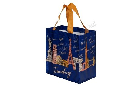 Pevná nákupní taška Fraspo traveling 25 x 15 x 27 cm