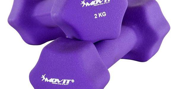 MOVIT 29319 Set 2 činek s neoprenovým potahem 2 kg