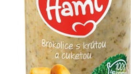 6x HAMI Brokolice a krůtí prsa (250 g) - maso-zeleninový příkrm