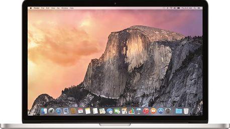 Apple MacBook Pro 15, stříbrná - MJLQ2CZ/A