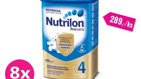 8x NUTRILON 4 ProNutra (800 g) - kojenecké mléko