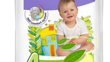 4x BELLA HAPPY Maxi Big Pack 4 (8-18kg) 66 ks - jednorázové pleny