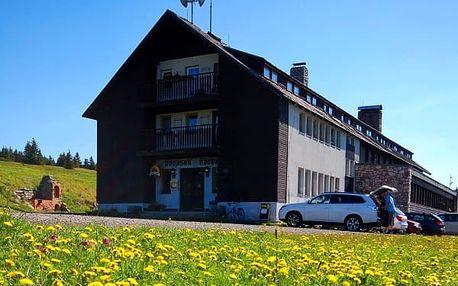 Výhodný podzimní pobyt pro rodinu na Dvorské boudě v Krkonoších. Sauna a zapůjčení kola zdarma.