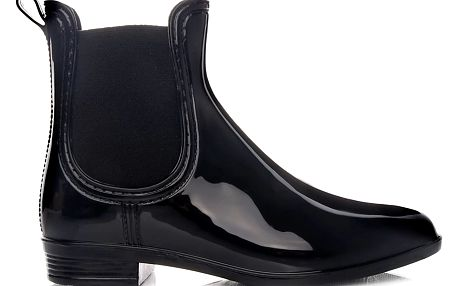 Nízké černé holínky KT-04B 40