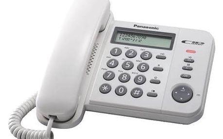 Panasonic KX-TS560FXW, bílá