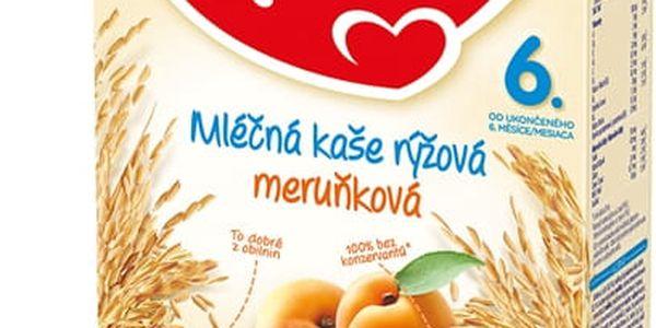 2x HAMI Rýžová s meruňkami (225g) - mléčná kaše