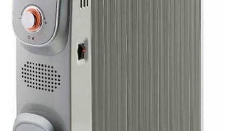Olejový radiátor Gorenje OR 2300 PEM stříbrný + Doprava zdarma