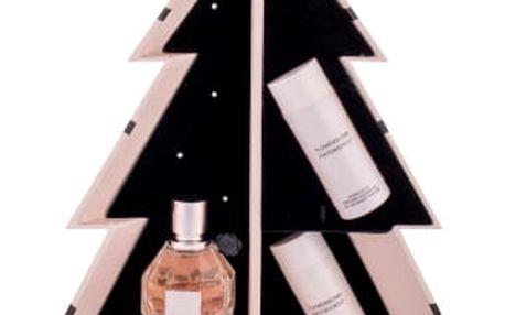 Viktor & Rolf Flowerbomb dárková kazeta pro ženy parfémovaná voda 50 ml + tělové mléko 50 ml + sprchový gel 50 ml